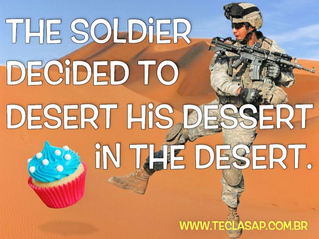 desert x dessert