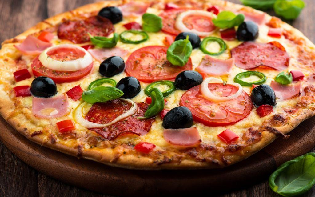 acabar em pizza