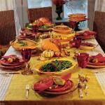 Menu para o Dia de Ação de Graças