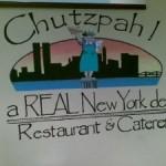 """O que """"CHUTZPAH"""" significa?"""