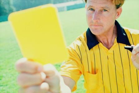 Resultado de imagem para cartão amarelo