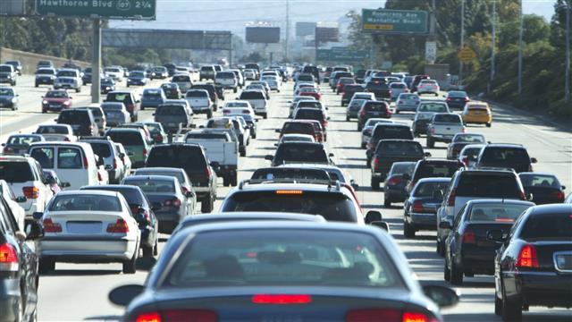 congestionamento / engarrafamento