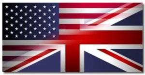 inglês britânico e o inglês americano