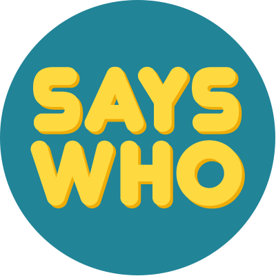 says who?