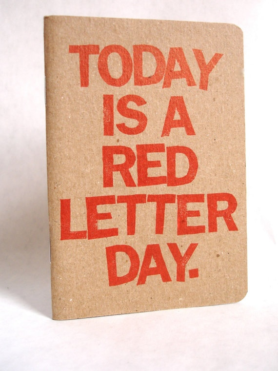 red letter day letter day o que a express 227 o significa 1561
