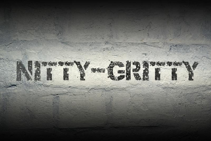 nitty-gritty