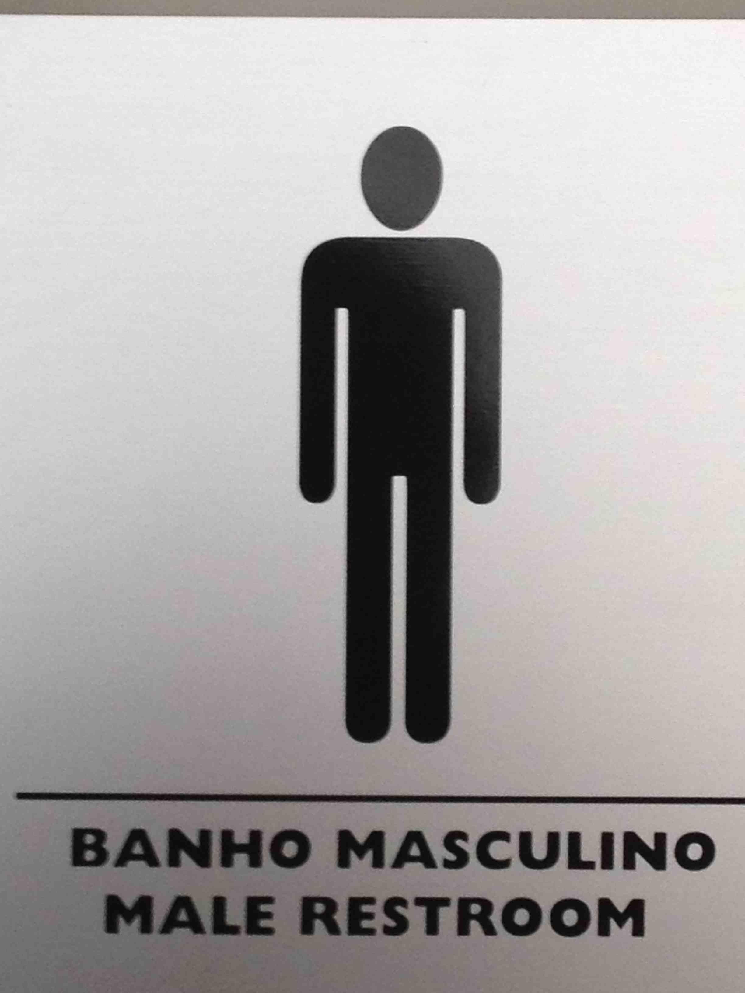 Troca a placa! Banheiro macho? #6E655D 2448 3264