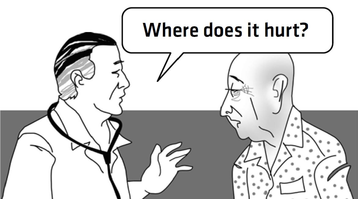 Saude frases prontas em inglês (com tradução para português) -> Banheiro Feminino Em Ingles Traducao