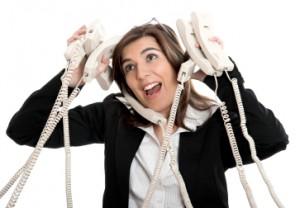 atender ao telefone