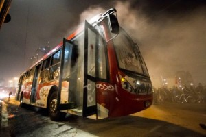 protesto contra tarifa de onibus