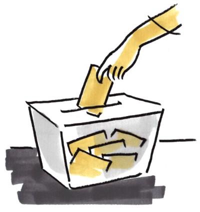 votar em