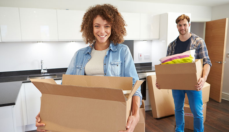 move in with