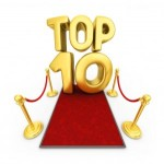 top 10 março