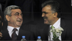 10. Football diplomacy between old enemies, 2008-09