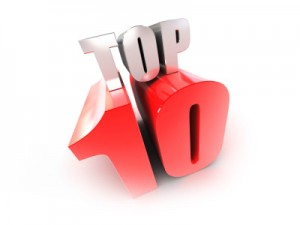Top 10 em julho