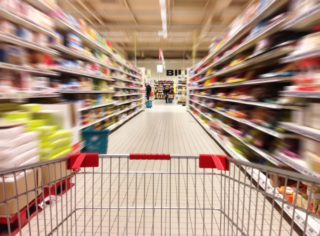 Não gosto de supermercado, mas hoje foi diferente…