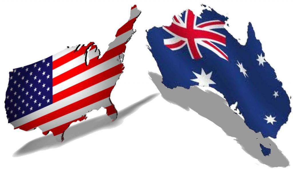 inglês americano x inglês australiano
