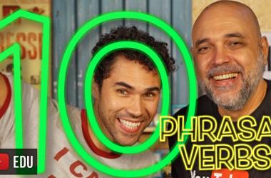 10 Phrasal Verbs Essenciais – Feat. Júnior Silveira (Cai como uma luva)