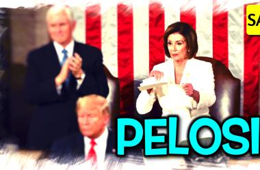 #74 ✂️ Pelosi ripping Trump's speech was effective ✂️ Leitura e tradução de texto em inglês